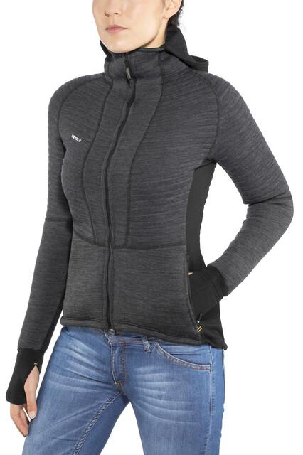 Jacket Damen Tinden Spacer With Anthracite Hood Devold Ku13TlFcJ